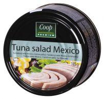 Salát tuňákový Mexico 185g/55g COOP Premium