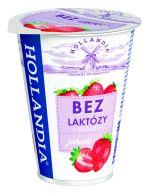 Jogurt Hollandia Bez laktózy jahoda 180g