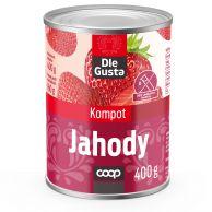 Kompot Jahody 400g/160g Dle Gusta