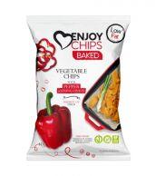 Enjoy Chips Baked Červená paprika a jarní cibulka 40g