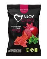 Enjoy Chips Červená řepa s mátou 40g