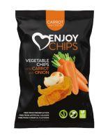 Enjoy Chips Mrkev a cibule 40g