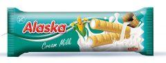 Alaska Milk Cream kukuřičná trubička náplň mléčný krém 18g