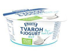 JČ tvaroh s jogurtem bílý 1% 135g
