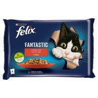 Felix Fantastic hovězí v želé 4x85g